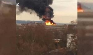 انفجار كبير بجامعة في فرنسا