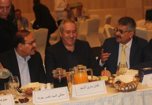 """افطار رمضاني لنقابة الفانين في """"الهوليدي إن """"(صور)"""