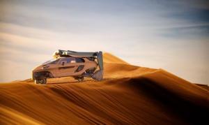 أول سيارة في العالم يمكنها الطيران! (صور)