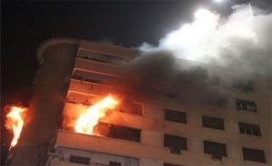 وفاة طفلين واصابة 4 بحريق شقة في الاشرفية