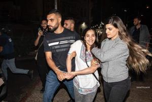 رغم الإعتقال  ..  لكنها ابتسمت