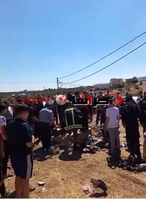سقوط 3 أشخاص في بئر مياه بإربد (فيديو وصور )
