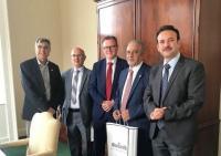"""تعزيز اتفاقية التعاون المشترك بين """"عمان الاهلية"""" وجامعة كوينز"""