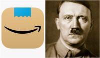 """بسبب هتلر """"أمازون"""" تغيّر شعارها الجديد(صورة)"""