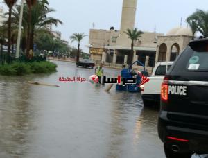 انقاذ 66 شخصا حاصرتهم المياه بعدة مناطق