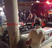 وفاة و 4 إصابات بحادث مروع في الكرك (صور)