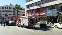 حريق محدود بأحد المطاعم قرب مجمع جبر