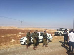 الاحتلال يهدم خياما سكنية تأوي 15 فرداً شرق رام الله