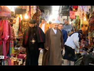 طرد الوفد البحريني من الاقصى
