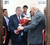 افتتاح قاعة الخوارزمي في جامعة الزرقاء