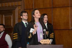 """حقوق جامعة عمان الأهلية تستضيف مسابقة """"المحاكمات الصورية"""""""