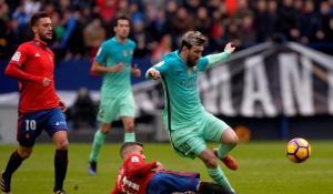 ميسي يعيد برشلونة لانتصاراته في الليجا