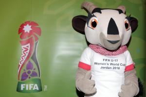 الكشف عن التميمة الرسمية لكأس العالم للناشئات بالاردن