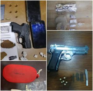 مطلوب خطير يطلق النار على قوة لمكافحة المخدرات