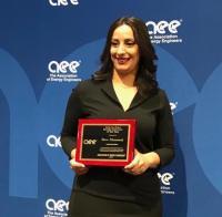 أردنية تحوز على جائزة مبتكر الطاقة للعام 2019 عن الشرق الأوسط