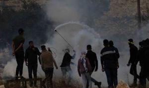 13 إصابة بقمع الإحتلال مسيرة كفر قدوم الأسبوعية