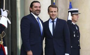 الحريري في فرنسا