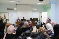 محاضرة في جامعة الزرقاء عن أهمية العمل التطوعي