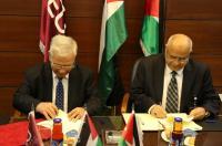 """الشرق الأوسط و""""القدس المفتوحة"""" تبرمان اتفاقية تعاون مشترك"""