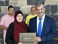 """""""عمان العربية"""" تشارك بحفل تكريم أوائل الثانوية في أم قيس"""