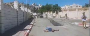 الإحتلال يقتل فلسطينيا بالخليل بحجة إلقاء قنبلة (صور)