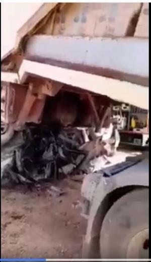 وفيات بحادث مروع على طريق الموقر (فيديو)