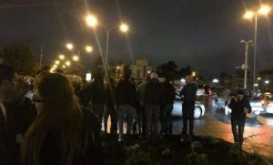 استمرار الاحتجاجات امام السفارة الامريكية لليوم السابع