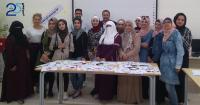 جامعة الزرقاء تنظم زيارة إلى مدرستي بلعما والأمير محمد
