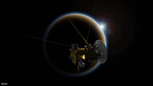 """ناسا تشرف على """"انتحار فضائي"""" في كوكب زحل"""