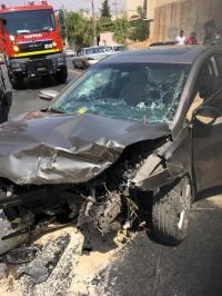 7 إصابات بحادث تصادم في ماركا