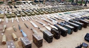 """سوريا تعلن عن ضبط أسلحة أمريكية و""""اسرائيلية"""" في القنيطرة"""