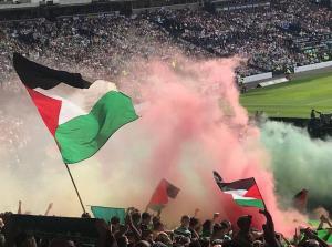 أندية انجليزية تتضامن مع فلسطين ضد الهجمة الصهيونية