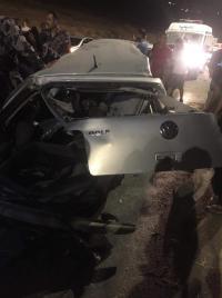 وفاة و3 اصابات بتصادم مركبتين في الكرك