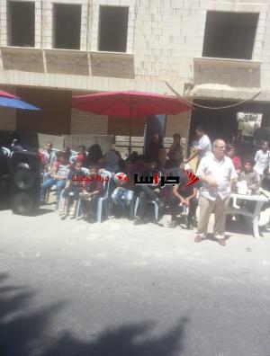 أصحاب المنشآت يواصلون اعتصامهم أمام السفارة الليبية (فيديو وصور)