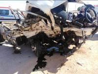 وفاتان وإصابة اثر حادث تصادم على طريق المفرق الصفاوي