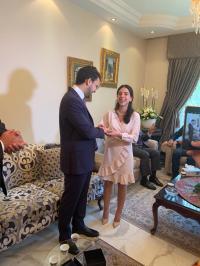 خطوبة صاحب السمو الملكي الامير نايف بن عاصم على سيادة الشريفه فرح بنت ناصر اللهيمق
