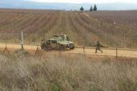 """إطلاق نار صوب قوة """"اسرائيلية"""" من الحدود المصرية"""