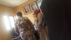 """""""راصد"""" يكشف حقيقة تواجد العسكريين بالأحوال المدنية"""