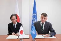 اليابان تتبرع ب ٢٢ مليون دولار لصالح الأونروا