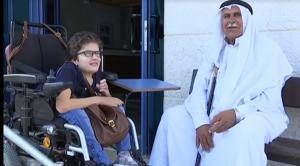 لتحديها الأعاقة ..  الملك يهدي سيارة لطالبة في جامعة النجاح