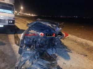 3 وفيات بحادث مروع على طريق المطار (صور)
