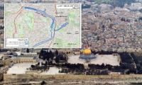 الاحتلال يطرح مخططًا لبناء نفق سكة حديد على تخوم الأقصى