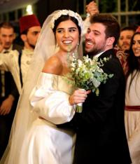 حفل زفاف الفنانة زينة مكي على الملحن نبيل خوري (صور)
