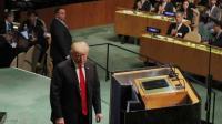 ترامب يكسر تقليدا قديما في الأمم المتحدة
