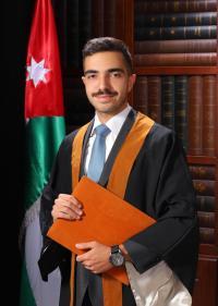 تهنئة لـ زيد العوامله بمناسبة تخرجه من الجامعة الاردنية