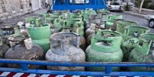 ارتفاع الطلب على اسطوانات الغاز قبل المنخفض