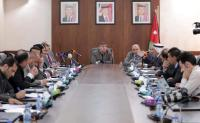 """""""فلسطين النيابية"""" تلتقي وزير الخارجية"""