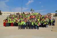 يوم عمل بيئي في جامعة الزرقاء
