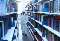 "جهود تنفذها ""عمان العربية"" للعودة الآمنة للعمل وتبدأ بعملية تعقيم شاملة"