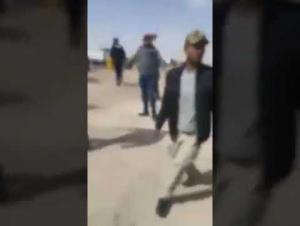 رئيس مجلس ادارة الفوسفات يرفض الاستماع لمتعطلين عن العمل  ..  فيديو